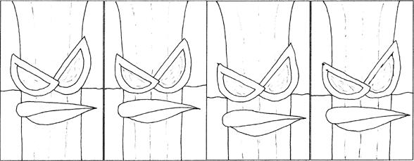 Four-Panel Zadok #2